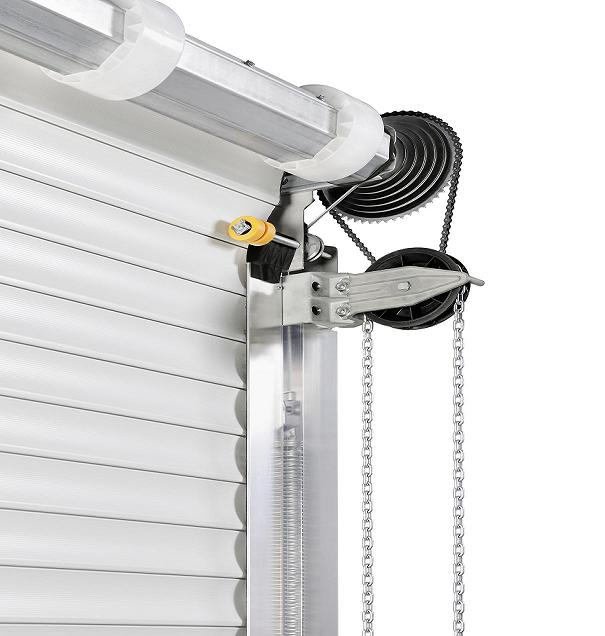 h rmann industrietor handrolltor rolltor decotherm s sb isoliert in 4 m x 4 m. Black Bedroom Furniture Sets. Home Design Ideas